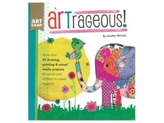 books & patterns: Walter Foster Art Camp Artrageous! Book