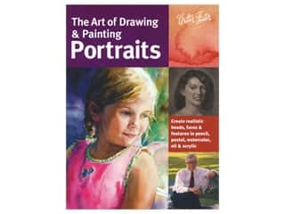books & patterns: Walter Foster The Art of Draw & Paint Portraits Book