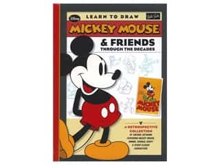 books & patterns: Walter Foster Mickey Mouse & Friends Through the Decades Book