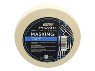 Pro Art Tape Masking 1 in. x 60 yd