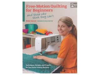 books & patterns: That Patchwork Place Free Motion Quilting for Beginners Book