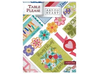 books & patterns: Art To Heart Table Please Part One Book
