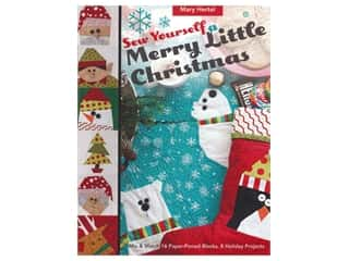 books & patterns: C&T Sew Yourself A Merry Little Christmas Book