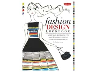 Walter Foster Fashion Design Lookbook Book