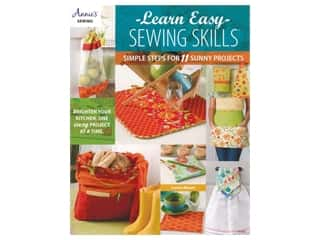 Annie's Sewing Learn Easy Sewing Skills Book