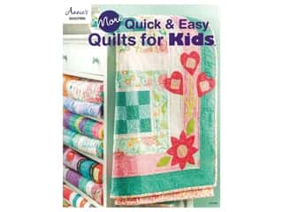 books & patterns: Annie's Quilting More Quick & Easy Quilts for Kids Book