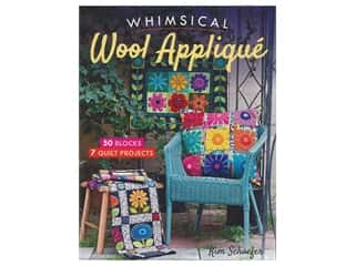 C&T Whimsical Wool Applique Book