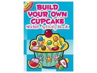 books & patterns: Dover Publications Little Build Your Own Cupcake Sticker Activity Book
