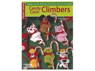 books & patterns: Leisure Arts Plastic Canvas Candy Cane Climbers Book