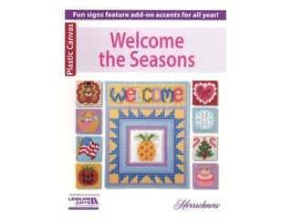 books & patterns: Leisure Arts Plastic Canvas Welcome The Seasons Book