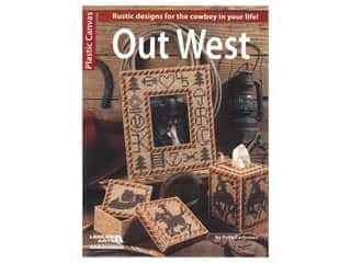 Leisure Arts Plastic Canvas Out West Book