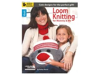 Leisure Arts Loom Knitting For Mommy & Me Book