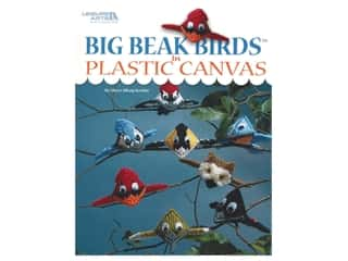 yarn & needlework: Leisure Arts Big Beak Birds In Plastic Canvas Book