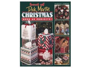 Leisure Arts Best of Dick Martin Christmas Plastic Canvas Book