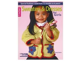 Leisure Arts Sweaters & Dresses For Girls Book