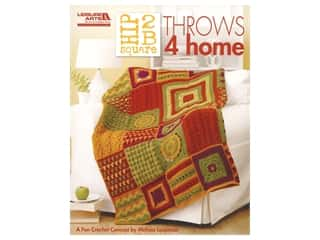 books & patterns: Leisure Arts Hip 2 B Square Throws 4 Home Book