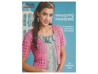 Leisure Arts Easygoing Fashions Crochet Book