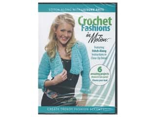 Leisure Arts Crochet Fashions in Motion DVD