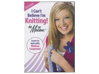 Leisure Arts I Can't Believe I'm Knitting in Motion DVD