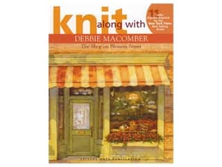 yarn: Leisure Arts Knit Along With Debbie Macomber The Shop On Blossom Street Book
