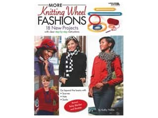 Leisure Arts More Knitting Wheel Fashions Book