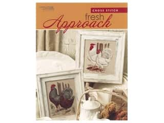 Leisure Arts Cross Stitch Fresh Approach Book
