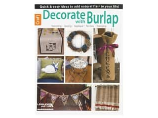 books & patterns: Decorate With Burlap Book by Jennifer & Kitty O'Neil