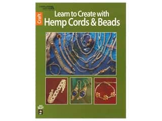 books & patterns: Leisure Arts Learn To Create with Hemp Cords & Beads Book