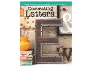 books & patterns: Decorating Letters Book by Leisure Arts