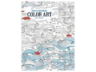 Ocean Wonders Color Art For Everyone Coloring Book by Leisure Arts