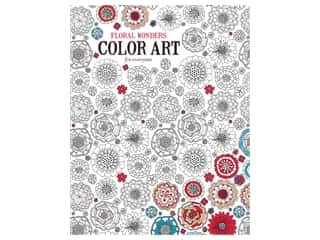 books & patterns: Floral Wonders Color Art For Everyone Coloring Book by Leisure Arts