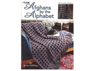 Leisure Arts Afghans By The Alphabet Book