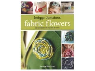 beading & jewelry making supplies: Indygo Junction's Fabric Flowers Book