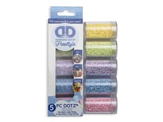 Diamond Dotz Freestyle Gems Sampler Pack 5 pc. Pastel