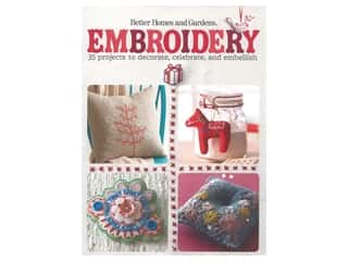 books & patterns: Better Homes and Gardens Embroidery Book