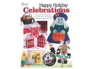 yarn & needlework: Annie's Happy Holiday Celebrations Plastic Canvas Book