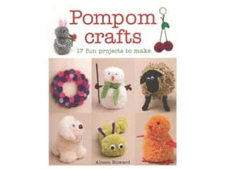 books & patterns: Guild of Master Craftsman Pompom Crafts Book