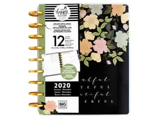 scrapbooking & paper crafts: Me&My Big Ideas Happy Planner Deluxe Classic Homebody Flower 2020