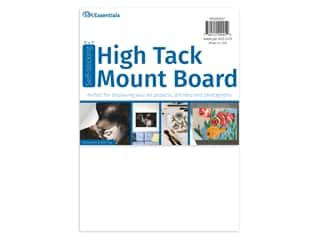 "glues, adhesives & tapes: PA Essentials Self-Stick High Tack Mount Board 5""x 7"""