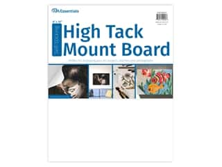"glues, adhesives & tapes: PA Essentials Self-Stick High Tack Mount Board 8""x 10"""