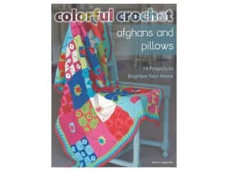 Colorful Crochet Afghans & Pillows Book