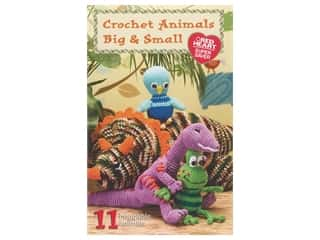 books & patterns: Coats & Clark Crochet Animals Big & Small Book