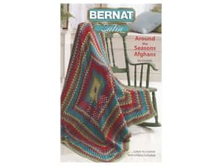 Bernat Around Seasons Afghans Crochet Book