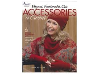 yarn: Annie's Elegant Fashionable Chic Accessories To Crochet Book
