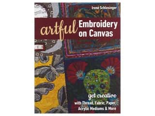 C&T Publishing Artful Embroidery On Canvas Book