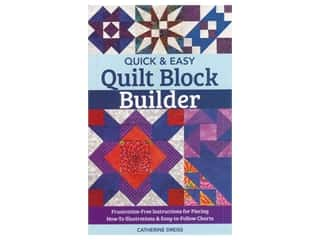 books & patterns: C&T Publishing Quick & Easy Quilt Block Builder Book