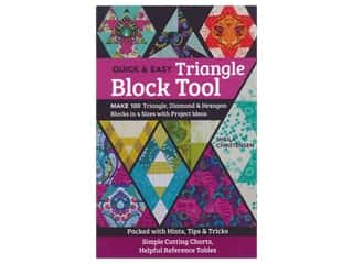 books & patterns: C&T Publishing Quick & Easy Triangle Block Tool Book