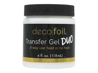 glues, adhesives & tapes: iCraft Deco Foil Transfer Gel Duo 4 oz