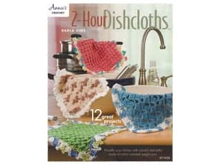 Annie's Crochet 2 Hour Dishcloths Book