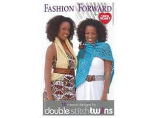 Coats & Clark Double Stitch Twins Fashion Forward Crochet Book